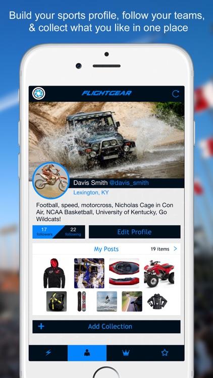FlightGear - Social Network for Sports, Gear, Fitness, and Action screenshot-3