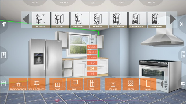eurostyle 3d kitchen planner on the app store