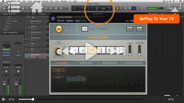 The ART of EDM in Logic Pro X screenshot-2