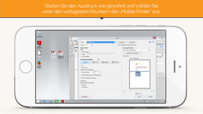 ThinPrint Mobile Print – Remote App- und Virtual Desktop PrintingScreenshot von 3