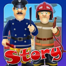 My Brave Fireman Rescue Design Storybook - Free Game