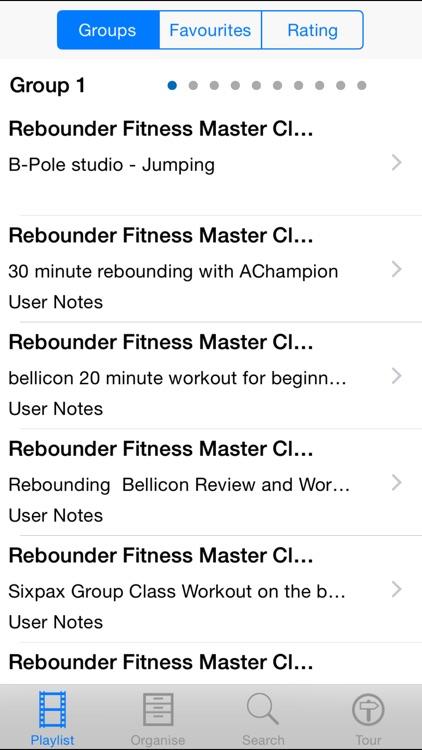 Rebounder Fitness Master Class