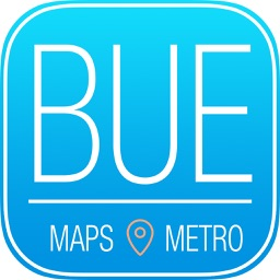 Buenos Aires Travel Guide with Metro Map and Route Planner Navigator