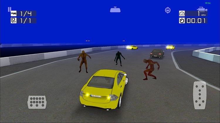 Zombie Racing : Top Scary Game screenshot-3