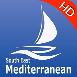 Mediterranean South East GPS Nautical charts pro