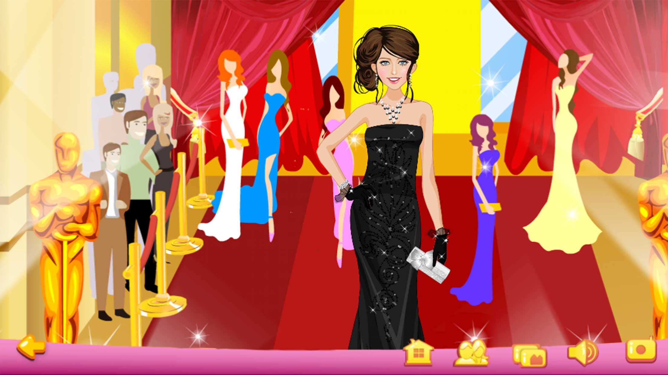 Dress Up - Red Carpet Screenshot