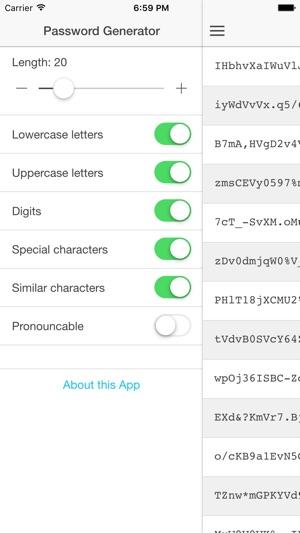 Free Password Generator! on the App Store