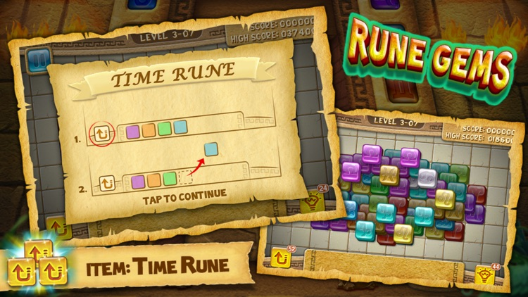 Rune Gems - Deluxe screenshot-1