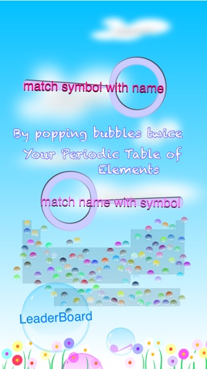 Periodic table of elements bubble pop on the app store periodic table of elements bubble pop on the app store urtaz Gallery