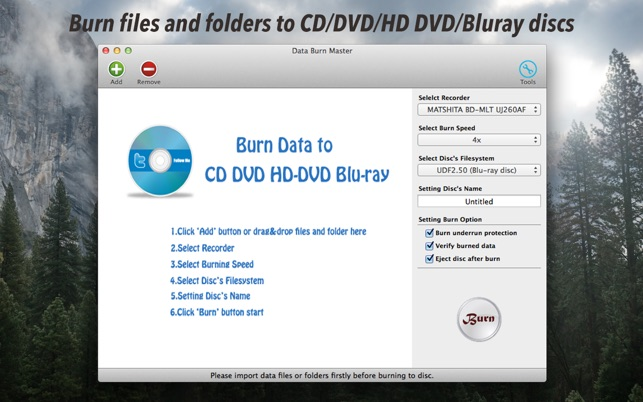 Data Burn Master