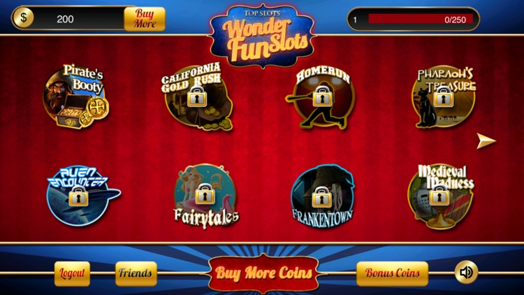 WONDER FUN SLOTS screenshot-1