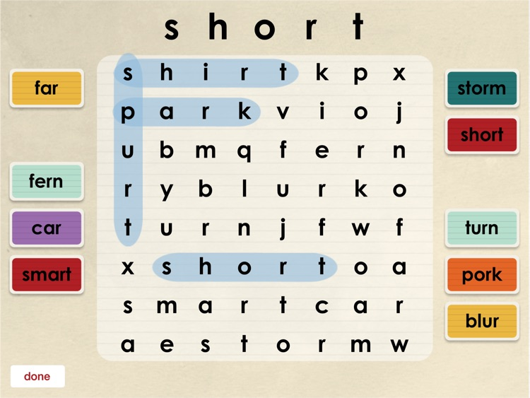Oz Phonics 4 - Long Vowel Spellings and R-Controlled Vowels screenshot-4