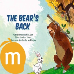 The Bear's Back - Interactive eBook in English for children with puzzles and learning games