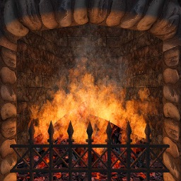 Realistic Fireplace
