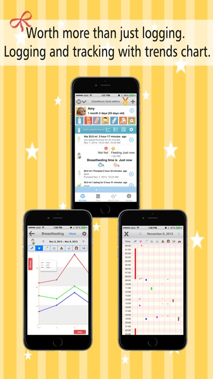 iCareRoom Baby Activity Tracker & Logger screenshot-0