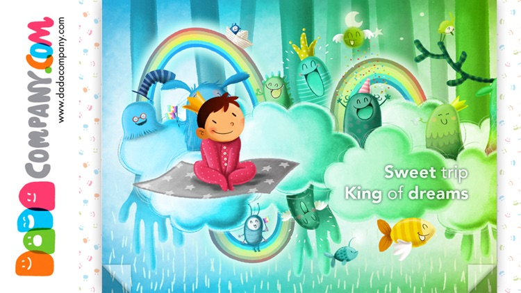 Off to bed! Boys and girls - Interactive lullaby storybook app for bedtime screenshot-3