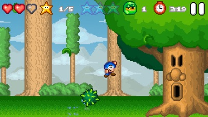 Screenshot from Bloo Kid 2