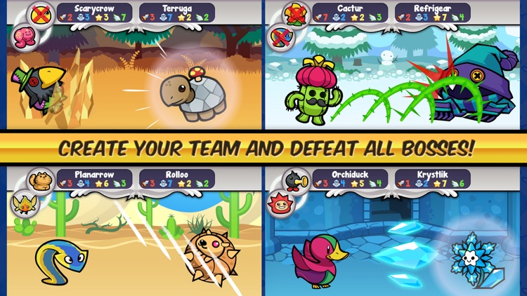 Pico Pets - Virtual Monster Battle & Collection Game screenshot-3