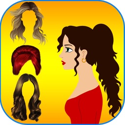 Hairstyle Makeover Booth -  The hair styles collection for xmas and halloween season