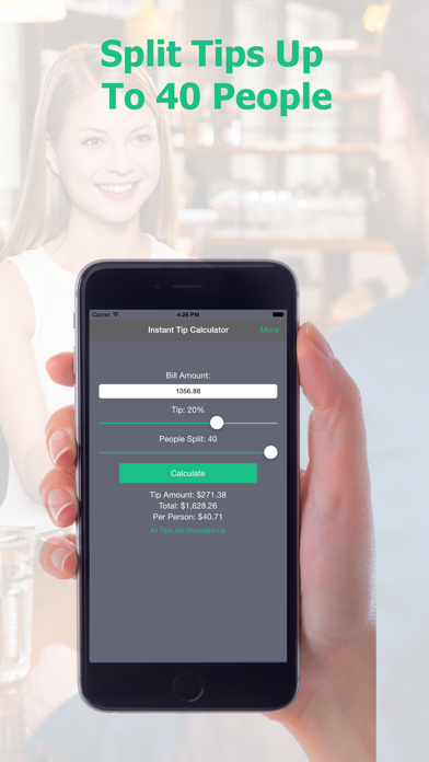 Instant Tip Calculator - Quickly Generate Gratuity screenshot four