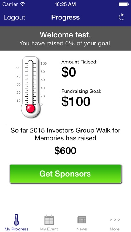 Investors Group Walk App screenshot-1