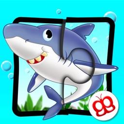 Ocean Jigsaw Puzzle 123 for iPad - Word Learning Puzzle Game for Kids