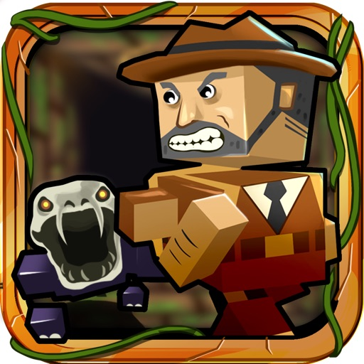 ` Block Jones: Pixel Craft Zombie Temple Free by Top Crazy Games