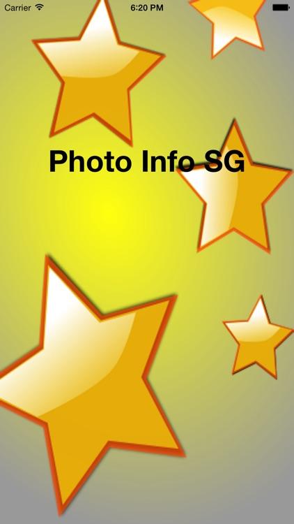 Photo Info SG