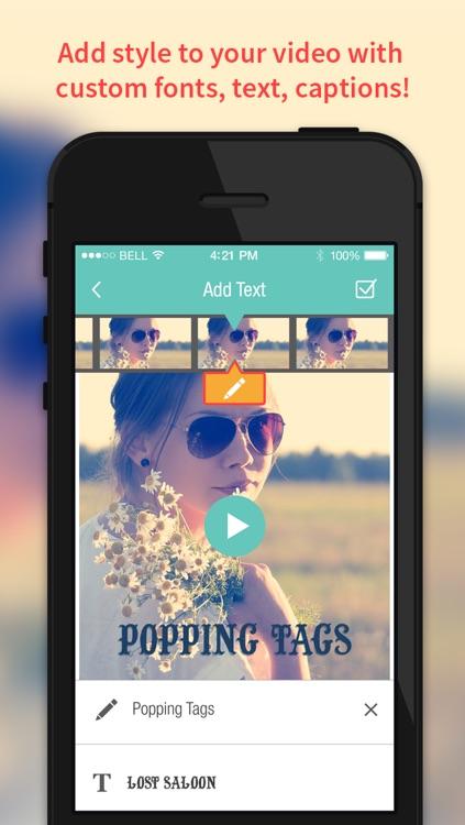 Videolab video editor for Vine, Instagram, Youtube screenshot-0