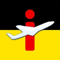 Flughafen DE Airport  iPlane Fluginformationen