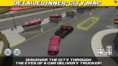 Screenshot from Car Transport Truck Parking Simulator - Real Show-Room Driving Test Sim Racing Games