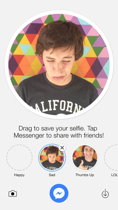 Selfied for Messenger-1
