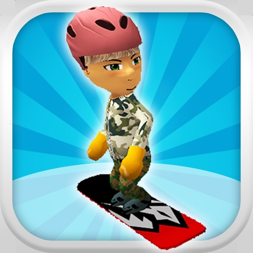A Freestyle Snowboarder: Extreme 3D Snowboarding Game - FREE Edition
