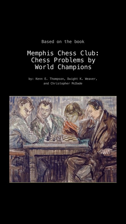 Chess Problems by World Champions: Memphis Chess Club screenshot-4