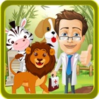 Zoo Animals Rescue Doctor Game & Washing Salon icon