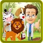 Animales del parque zoológico de rescate médico juego y lavado de Salon icon