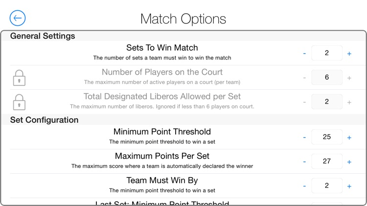 A Volleyball Scoreboard: The Simple Volleyball Match Tracking System screenshot-4