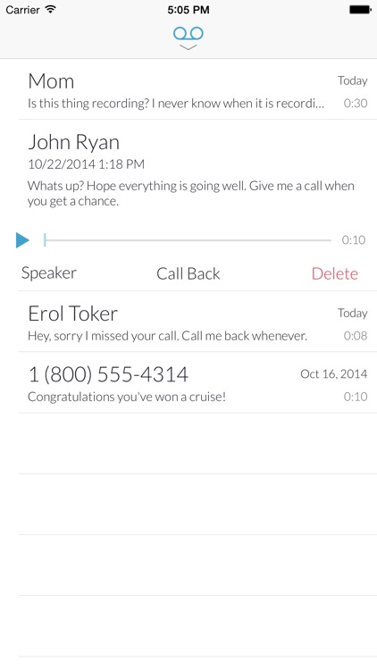 Truly Voicemail