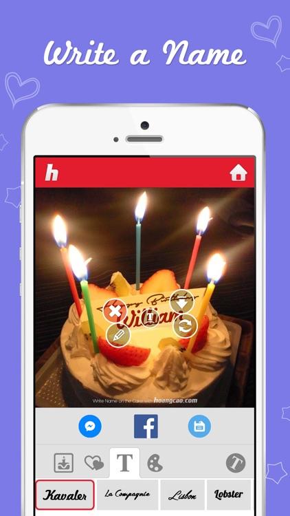 Birthday Cakes for Messenger