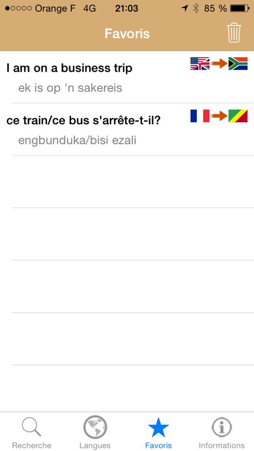 Parler les langues du continent africain App 截图