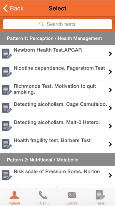 Nurse Test - Nursing and Paramedic healthcare questionnaire Screenshot