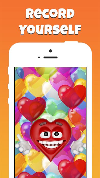 Screenshot 1 For Emoji Voice Modifier Happy Birthday Video Greetings