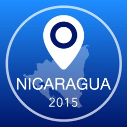 Nicaragua Offline Map + City Guide Navigator, Attractions and Transports