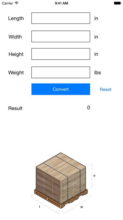 PCF Density Calculator