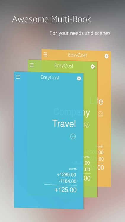 EasyCost - Expense Tracker and Money organizer screenshot-0