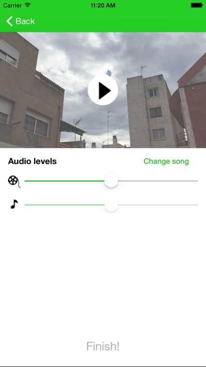 Add Music to Video Editor - Add background musics to your videos for iPhone & iPad Free screenshot-0