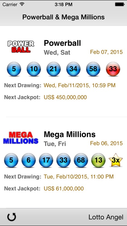 Lotto Angel - Powerball & Mega Millions screenshot-1