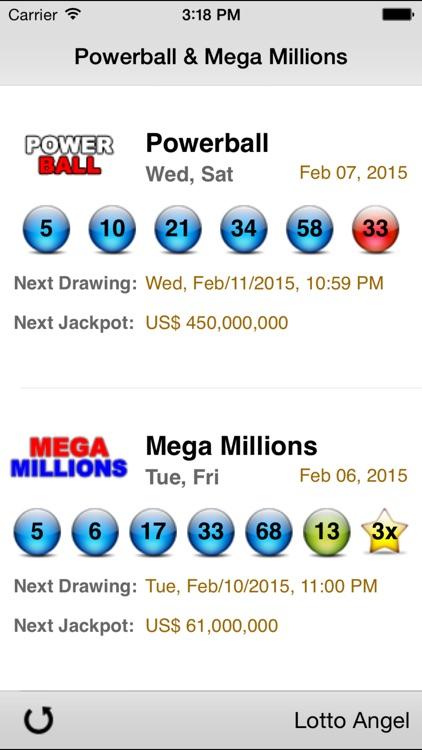Lotto Angel - Powerball & Mega Millions