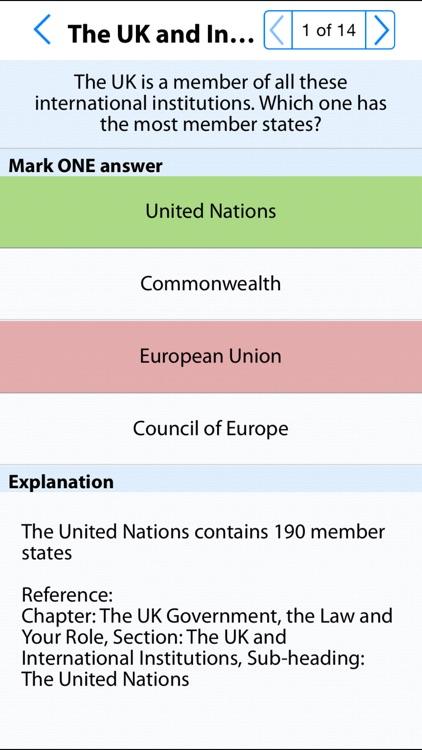 Life in the UK : Citizenship Test Lite screenshot-4