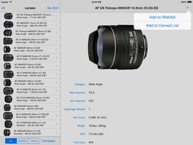 Nikon Lenses+